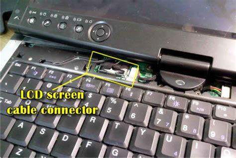 Perbaikan Keyboard Laptop Toshiba cara analisa dan perbaikan layar lcd laptop yang berubah warna kendari komputer