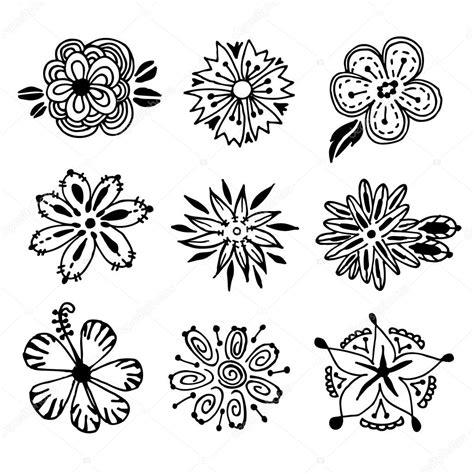 sketch pattern vs feature pattern flower doodle vector stock vector 169 chanitar 58666841