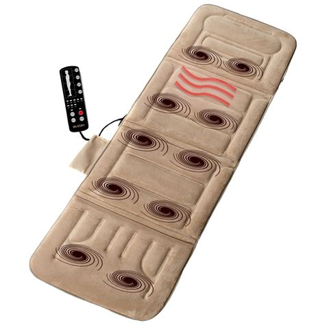 comfort products comfort products 10 motor plush massage mat 307428