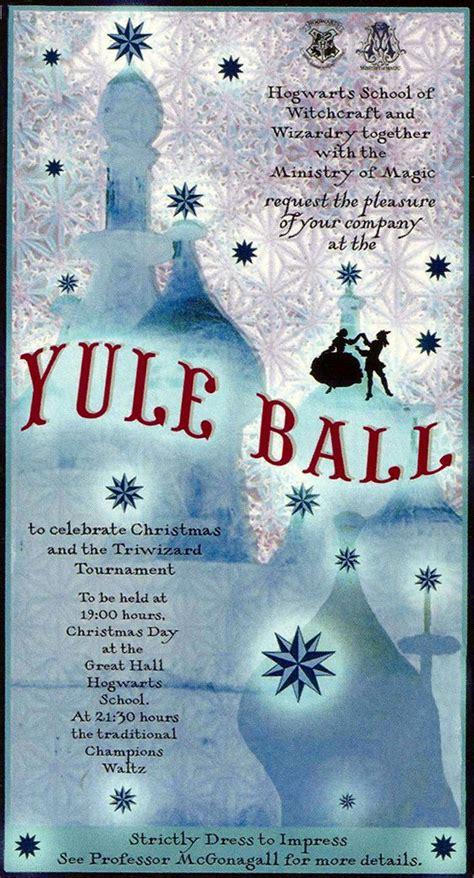 yule ball yule and hogwarts on pinterest