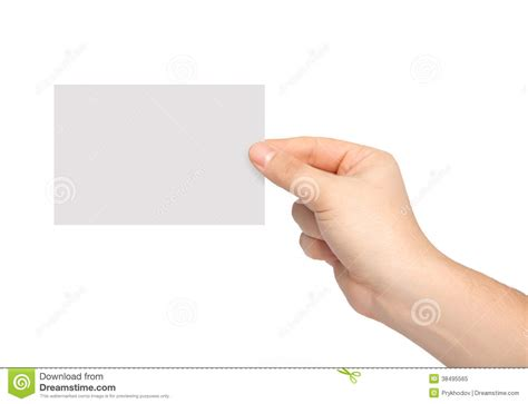 How To Make Paper Holding - isolated holding a of paper stock image