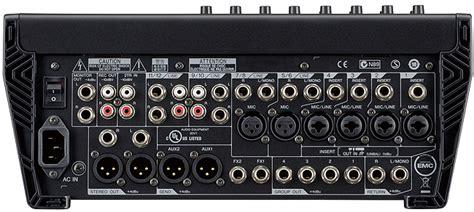 Mixer Yamaha 12 Channel Bekas yamaha mgp12x