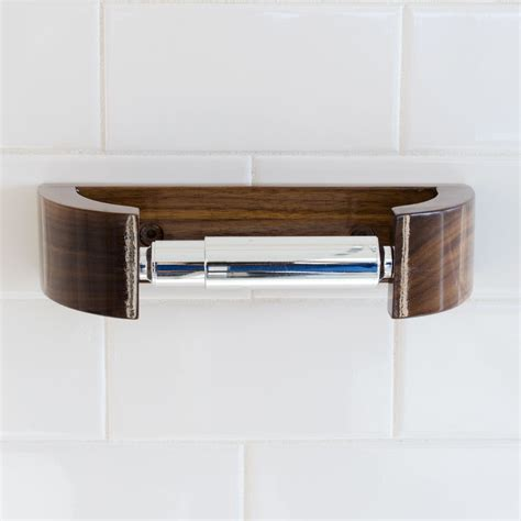 modern toilet paper holder walnut tp holder modern curve toilet paper holder