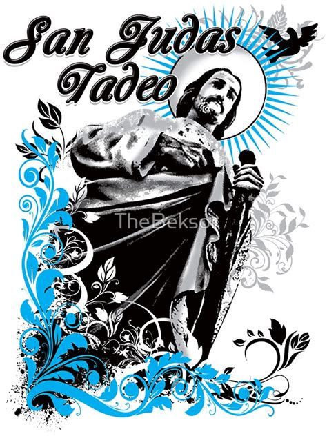 quot san judas tadeo quot stickers by thebeksor redbubble