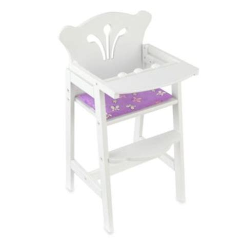 baby doll bed and highchair set buy baby doll high chair from bed bath beyond