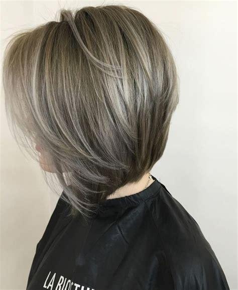 hair color highlight ideas for older women gray hair color ideas for short hairstyle 2017 for older