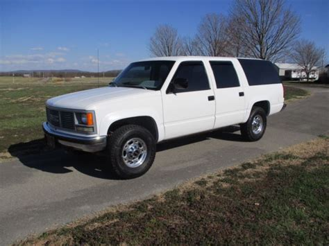 how petrol cars work 1992 gmc suburban 2500 electronic toll collection 3 4 ton 4x4 suburban 2500 only 84k miles w fuel injected 5 7l 350 auto overdrive