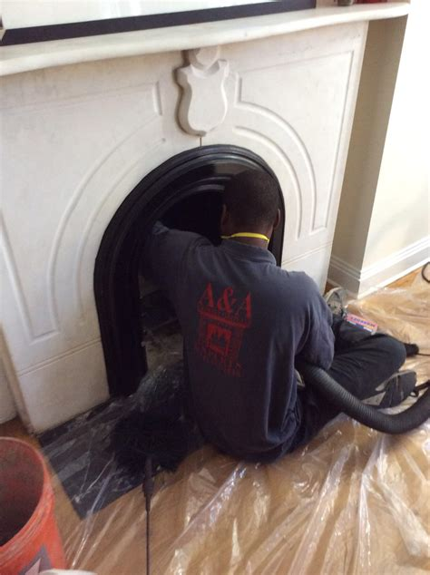 Fireplace Chimney Cleaning by Chimney And Fireplace Cleaning A A Chimney And Fireplace