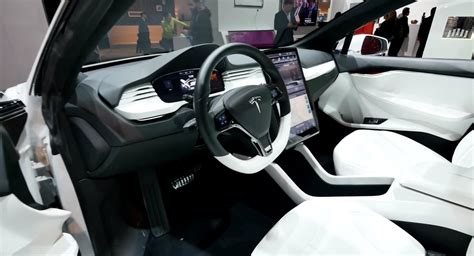 Tesla Model X Photo Gallery Tesla Model X Electric Crossover Displayed At The