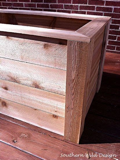 How To Make A Raised Planter Box by How To Build Planter Boxes Economically Gardens