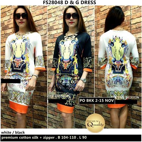 3101dde 198 000 Premium Dress d g dress supplier baju bangkok korea dan hongkong