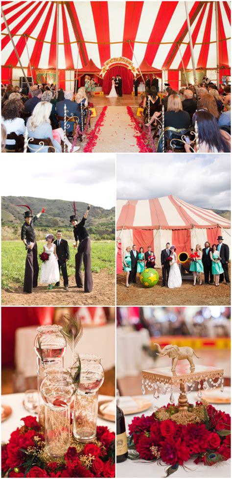 running away with the circus e i vintage circus carnival wedding circus wedding