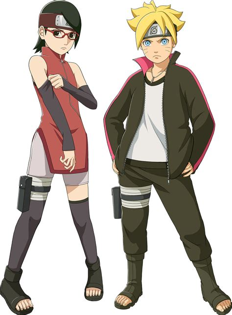 film boruto full episode naruto storm 4 boruto and sarada by kmvw on deviantart