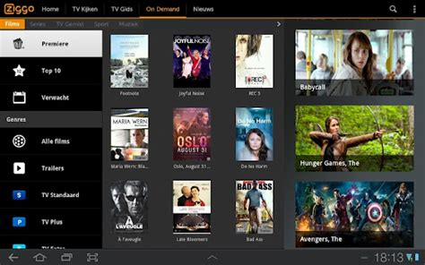 update ziggo tv app voor android en ios tablet guide