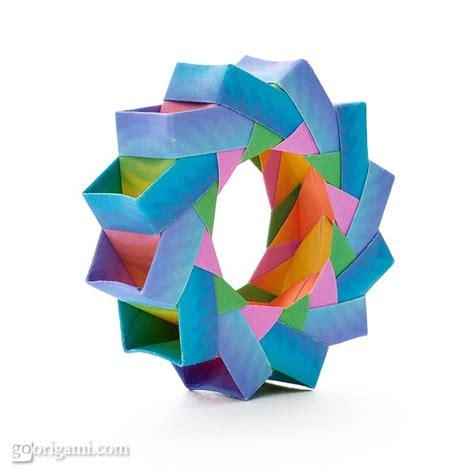 Ring Origami - origami ring origami paper
