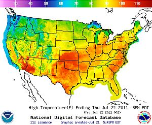 will this summer be a scorcher farmers almanac average july relative humidity values continental united