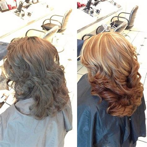 reverse ombre highlights partial highlights reverse ombre hairstyles pinterest