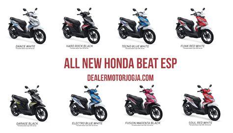 Funk White All New Beat Esp Cbs Honda Motor Otr Purwodadi spesifikasi dan harga motor all new honda beat esp terbaru 2016 jogja dealer motor jogja