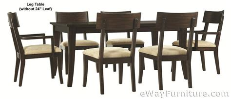metropolitan dining room set metropolitan mahogany 7pc dining room table set