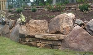 gartengestaltung mit findlingen boulders landscaping