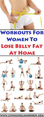 workouts for to lose belly at home living