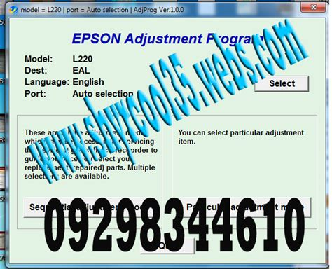 free download of epson l220 resetter epson l220 adjustment program resetter epson online