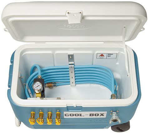 air systems cooling box  ice based compressed air chiller