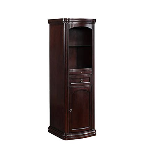 cherry finish wine storage cabinet big lots