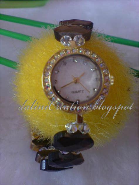 Jam Tangan Wwaita Donat Rantai dalini creation cincin suasa 14k brooch jam
