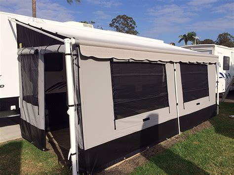annexe walls for roll out awning caravan annexes 171 coffs canvas