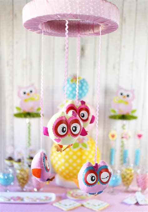 Baby Shower Decorations by Owl Baby Shower Ideas