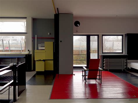 schroder house interior gerrit rietveld architect
