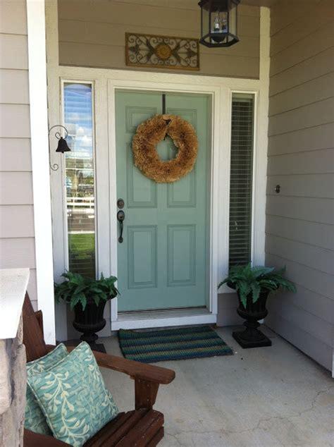 Wythe Blue Front Door Wythe Blue Exterior Front Door Color Favorite Paint Colors