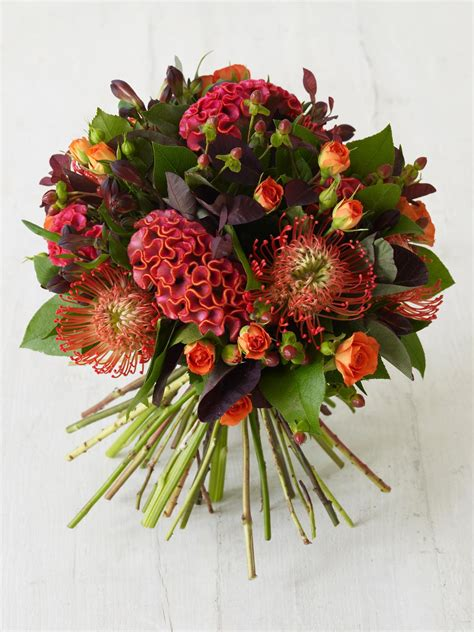 fall floral arrangements fall for this autumn inspired bouquet hgtv
