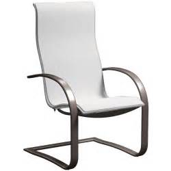 Sling Patio Chair Homecrest Sling Base Patio Dining Chair Salt Ultimate Patio