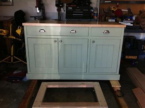 Build Kitchen Island From Cabinets Build Kitchen Island Only 2 Cabinets Diy Furniture