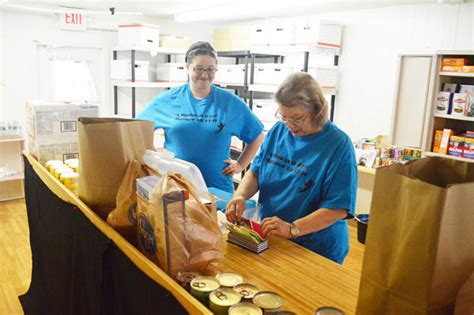 The Pantry Mission Bc by Handing Out Food Pantry Opens At Oak Grove Church