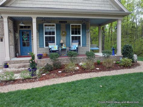 landscaping ideas around front porch www pixshark com