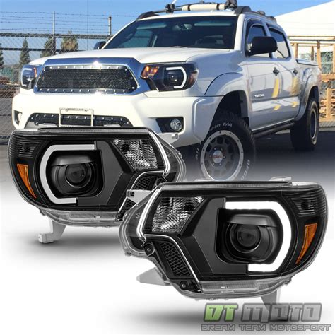2015 tacoma lights black 2012 2013 2014 2015 toyota tacoma led drl light