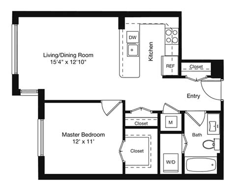 600 Sq Ft Apartment by 600 Sq Ft Apartment Floor Plan Thraam Com