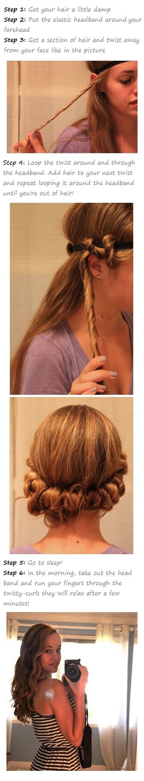 how to curl your hair overnight 15 tutorials for curls without heat pretty designs