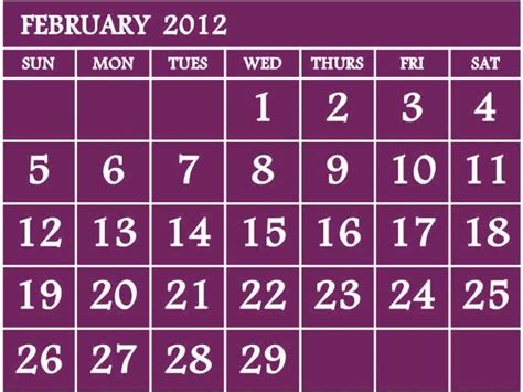february 2012 free printable maps nevenkitis printable february 2012 calendar free