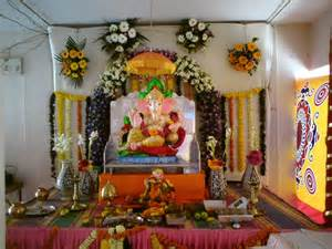 decoration for ganesh festival at home lord ganesha photos ganesh chathurthi festival