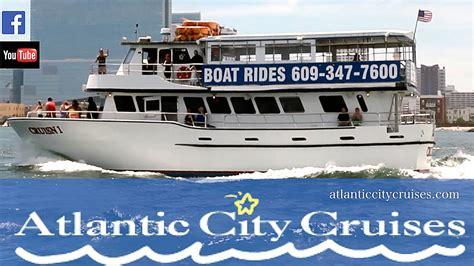 atlantic city boat rentals atlantic city cruises youtube
