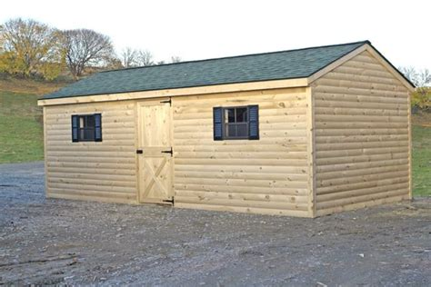 Log Cabin Storage Shed by Plan From A Sheds Shed Plans 10x12 Insulated