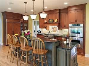 traditional kitchen islands with wood material and cartsg