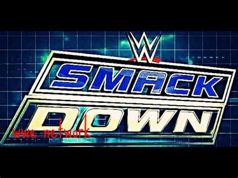 theme song smackdown 2015 wwe smackdown 2015 2016 theme song black and blue hd