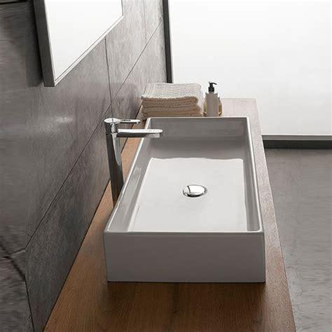 lavabi bagno appoggio lavabi appoggio lavabo appoggio teorema 80