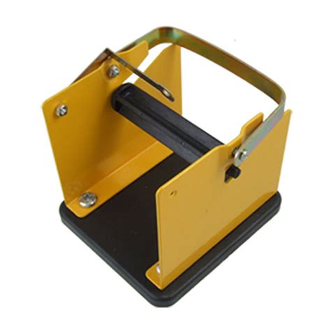 Stand Solder Cover Dekko Tempat Solder yellow black metal solder wire stand holder support s9 ebay