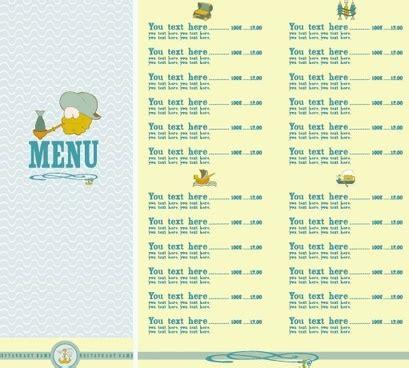 design menu cdr menu list free vector download 1 789 free vector for